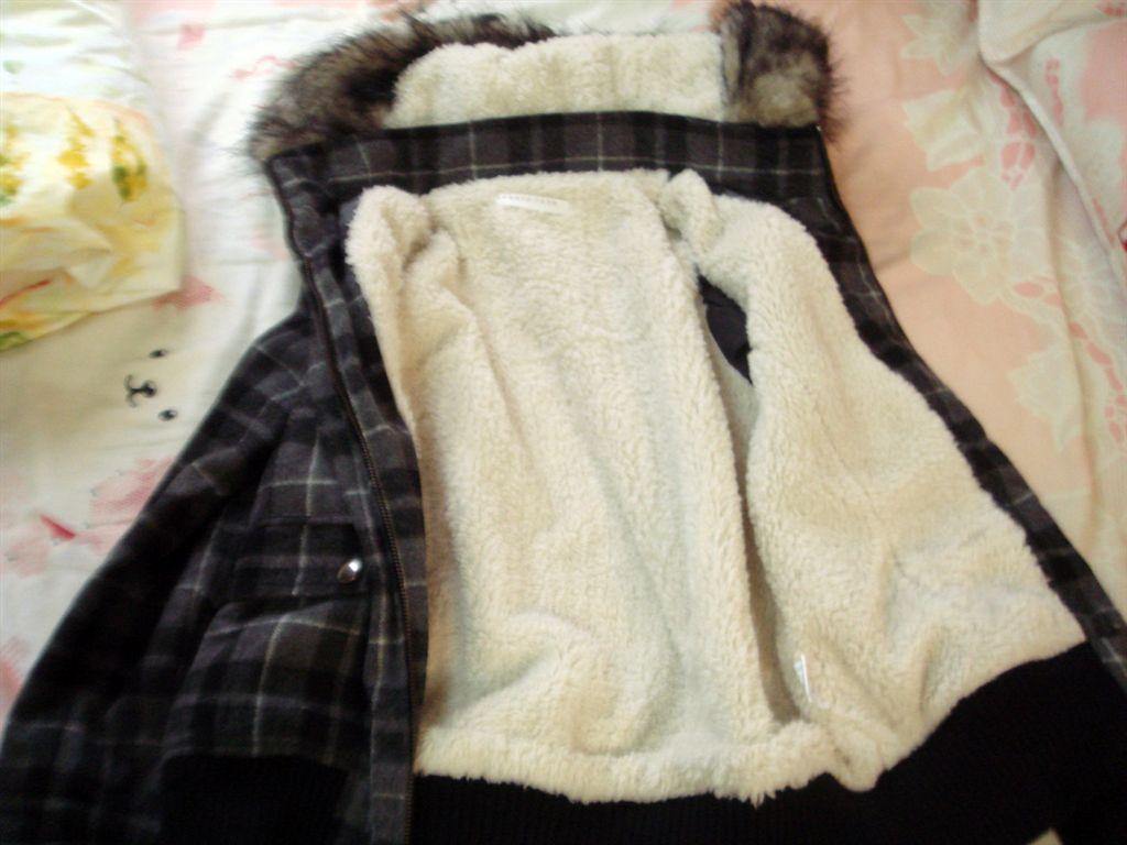 lf格紋外套-4