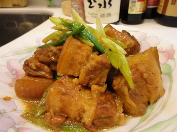 蒜燒福祿肉