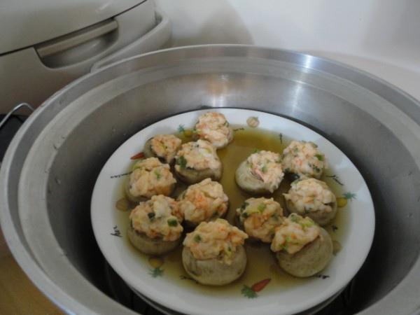 鮮蝦蘑菇盒