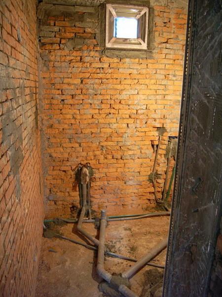 小浴室小小的透氣窗