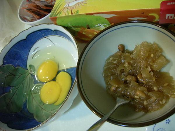 材料:醃冬瓜、雞蛋-970316