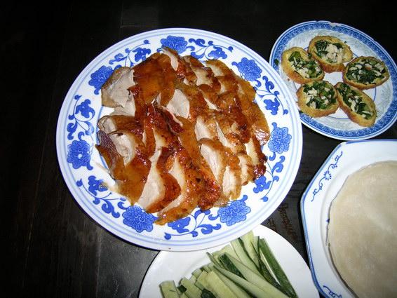 利群烤鴨 共兩盤鴨肉
