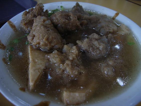 0422 炸豆腐+丸子湯