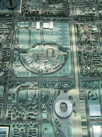 0422 北京城市規劃模型3