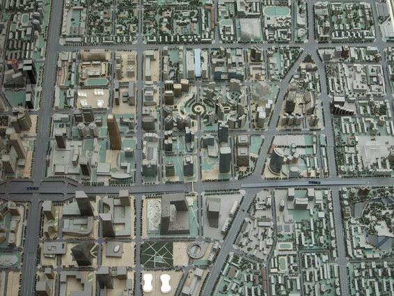 0422 北京城市規劃模型4
