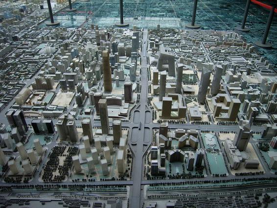 0422 北京城市規劃模型5