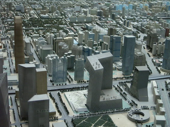 0422 北京城市規劃模型6