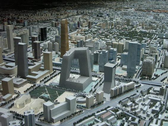 0422 北京城市規劃模型7