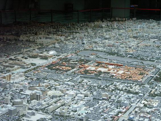 0422 北京城市規劃模型8