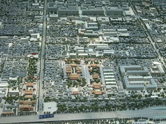 0422 北京城市規劃模型9