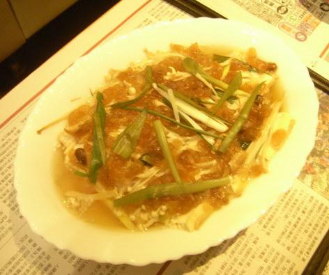 醃冬瓜蒸魚-990404