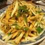 990506 筊白筍絲配芥末醬油
