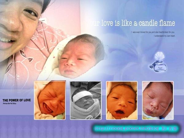 剛出生就有豐富的表情