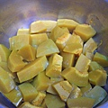 蒸熟的南瓜