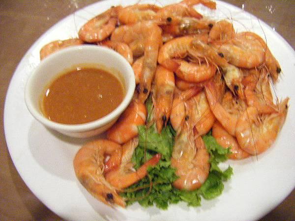 午餐的蝦蝦