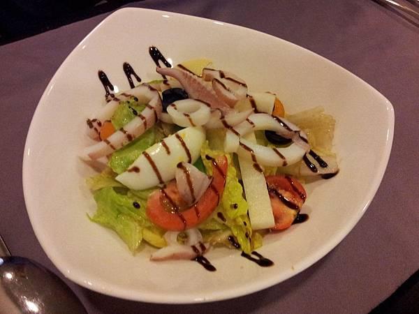 海鮮油醋沙拉
