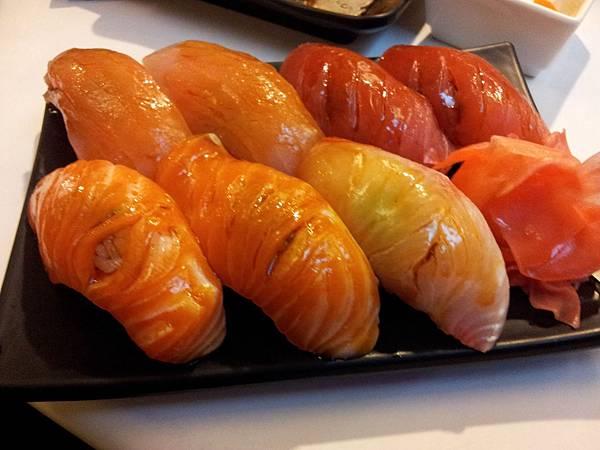 美味的握壽司