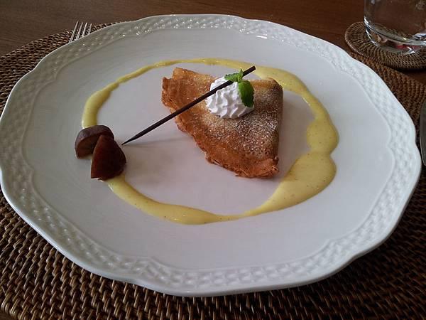 法式栗子薄餅