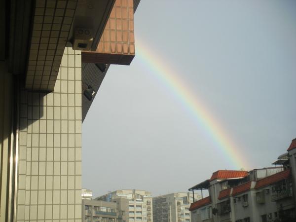 五分埔的彩虹