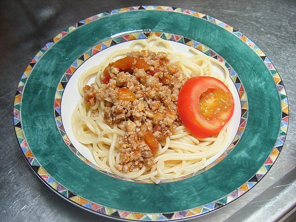 番茄肉醬義大利麵
