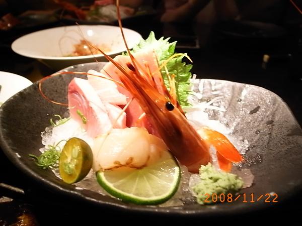 三井套餐生魚片.JPG
