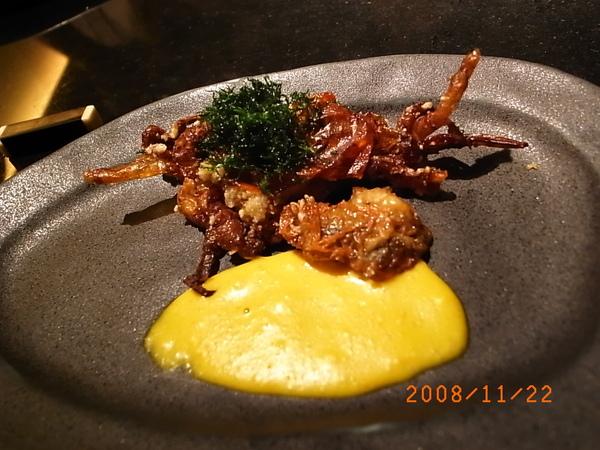三井套餐炸軟殼蟹.JPG