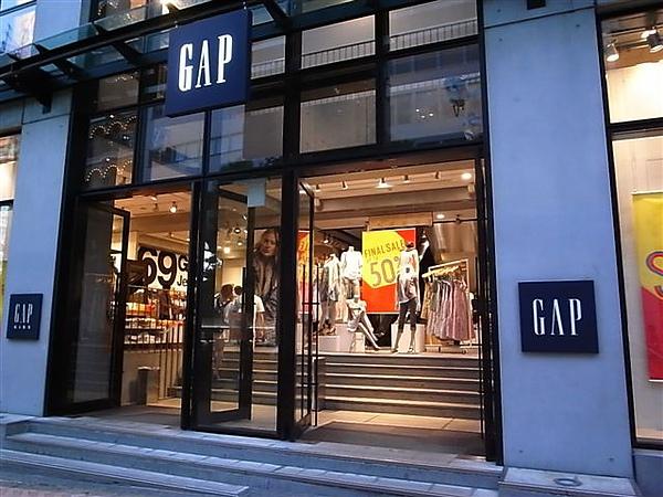 台灣沒櫃的Gap.JPG