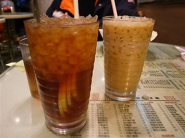 凍檸茶與凍鴛鴦.JPG