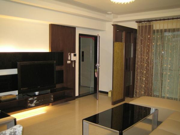 電視牆及整個客廳