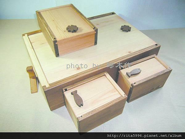客製實木文具盒