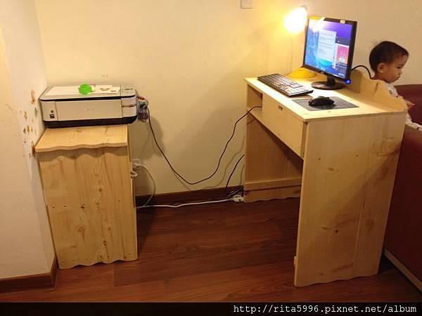 發財桌+櫃1