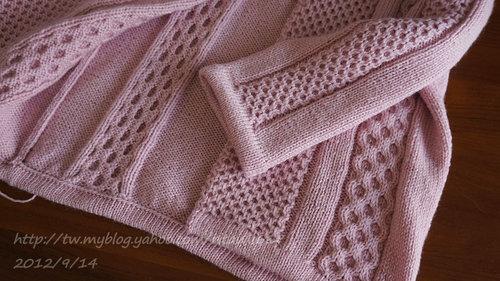 氣質粉紅短外套-2