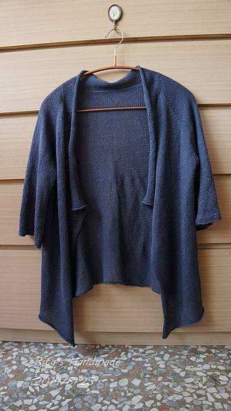20140825_亞麻七分袖外套