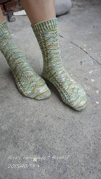 No-018手織襪-2
