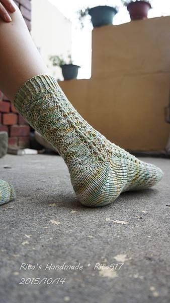 No-018手織襪-3