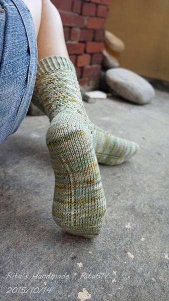 No-018手織襪-8