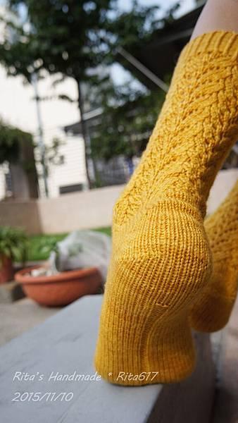 N-19 古典蕾絲手織襪-5