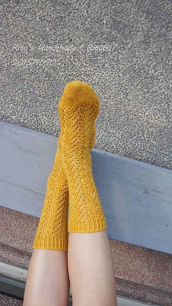 N-19 古典蕾絲手織襪-1