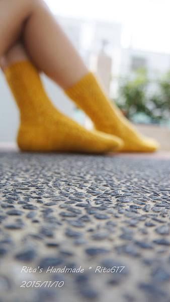 N-19 古典蕾絲手織襪-4
