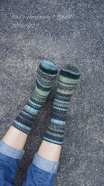 寶石手織襪-波浪-2.JPG