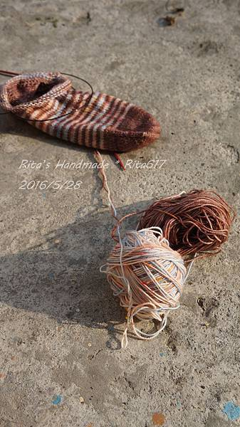 W_028條紋配色襪-2