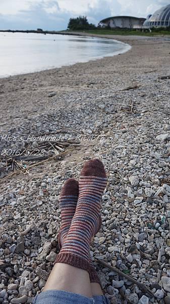 W_028條紋配色襪-6