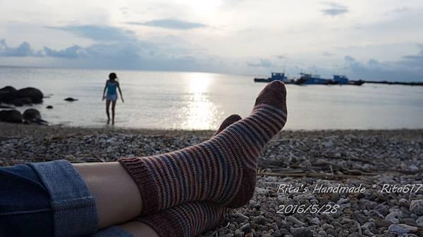 W_028條紋配色襪-7