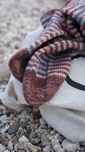 W_028條紋配色襪-9