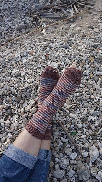W_028條紋配色襪-8