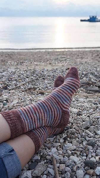 W_028條紋配色襪-10