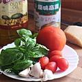 番茄羅勒義大利燉飯