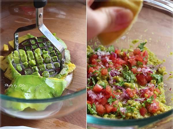墨西哥玉米片佐酪梨莎莎醬