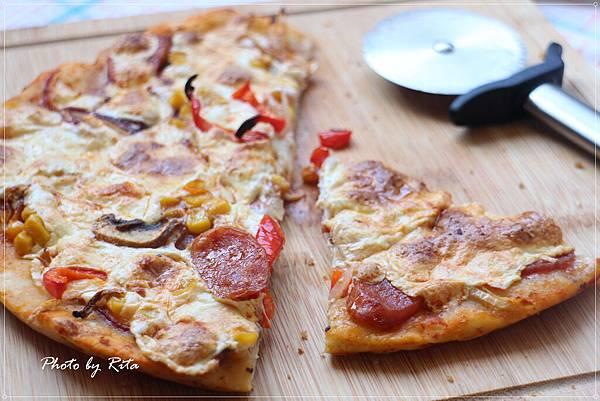 美式火辣深盤披薩