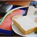 烤三明治-煙燻鮭魚蛋